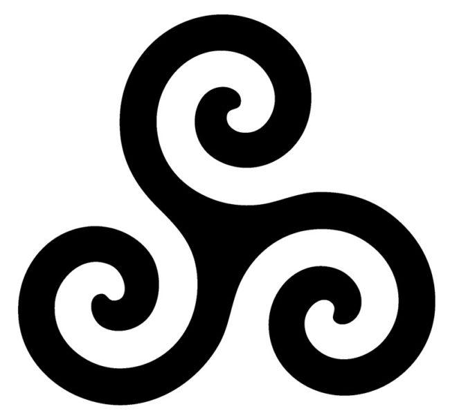 символ воздуха триглав